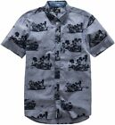 Alpinestars Mens Paradise Printed Short Sleeve Button Up Woven Shirt