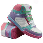 GIRLS LADIES LACE UP HI TOP ANKLE BOOTS CASUAL SHOES KIDS SPORTS TRAINERS SIZE