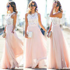 Women's Ladies Boho Summer Beach Evening Party Cocktail Long Maxi Dress Sundress