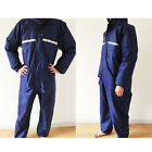 Conjoined raincoats overalls Electric motorcycle fashion men and women work suit
