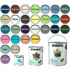 Ronseal Exterior Garden Paint Wood Brick Metal Stone 250ml 750ml 2.5L All Shades