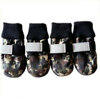 Pet Boots Water Repellent Dog Shoes Booties Protective All Weather Cold Hot