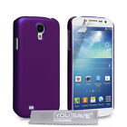 Yousave Accessories Hard Hybrid Tough Phone Case Cover For The Samsung Galaxy S4