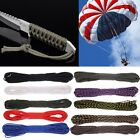 100ft 550 Paracord Parachute Cord Lanyard Rope Mil Spec Type III 7 Strand US