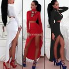 Finejo Stylish Lady Women's Casual High Collar Long Sleeve Crop Top and K0E101
