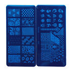 NEW 12Style Nail Art Transfer Foil Stamping Image Template Plate Tools Hot 25-36
