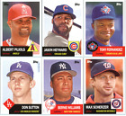 2016 Topps Archives Baseball - Base Cards (1953 Design) - Pick Card #'s 1-100