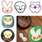 Breakfast Fried Egg Mold Silicone Pancake Ring Shaper Funny Cooking Tool