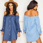 Fashion Women Ladies Off Shoulder Summer Casual Party Cocktail Mini Short Dress@
