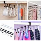 Kitchen Storage Rack Cupboard Hanging Hook Hanger Chest Storage Organizer Holder