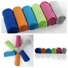 Outdoor Sport Towel Cooling Ice Cold Summer Bath Towels For Travel Hip-hop Yoga