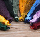 "17 Mixed & Plain Colours - 4"" (10 cm) Fashion Craft Long Tassel Fringe Trim (A7)"
