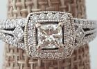Vintage Inspired 1.06 ct tw Diamond Engagement Ring 14k w/ Appraisal for $5,600