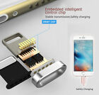 New Magnetic Braided Lightning Charging USB Charger Cable For iPhone Samsung
