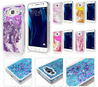 GLITTER Case For Samsung Galaxy J3 Emerge / J3 2017 Waterfall Liquid Stars Shiny