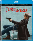 Justified: The Complete Third Season 3 Three (Blu-ray Disc, 2012, 3-Disc Set)