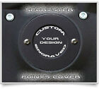 HARLEY DAVIDSON SPORTSTER 2 HOLE POINTS / TIMING COVER - CUSTOM ENGRAVED