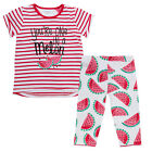MiniKidz Girls Watermelon T Shirt & Leggings Set