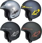 HJC IS-5 IS5 Arrow Open Face Motorcycle Helmet with Integrated SunShield