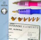 (FREE GENUINE Swarovski Hotfix) Rhinestone Glass Crystal Clear + Applicator wand
