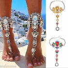 1PC Women Lady Chain Anklet Ankle Bracelet Barefoot Sandal Beach Foot Jewelry US