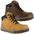 Mens DeWalt Camden Leather SB Steel Toe Work Lace Up Boots Sizes 6 to 12
