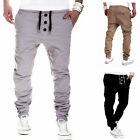Men sportswear Pants Casual Elastic Cloth Mens Fitness Workout Sweatpants LAUS