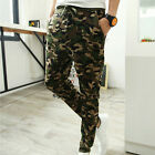 Men Camouflage sportswear Pants Casual Elastic Cloth Mens Sweatpants LAUS