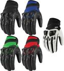 Icon Konflict Street Motorcycle Riding Gloves All Sizes All Colors