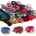 3x1.5mm Faux Suede Cord Jewellery Making Thread Beading Supplies 3/5/10/40M