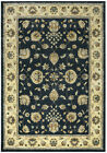 Rizzy Rugs Gray Vines Petals Rings Traditional-European Area Rug Bordered SO4309