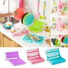 Storage Tool Rack Holder Home 4 Colors Drainer Foldable Drying Insert Dish