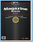BCW: Acid-Free Backing Boards: MAGAZINE Size: 100ct  *Ships FREE in USA