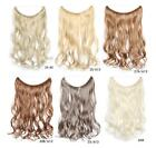 """18"""" 45cm Mixed Color Body Wavy Stretch Wire Weft Hair Extensions Hair Pieces 80g"""