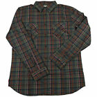 GIRL Skateboard Longsleeve Button Shirt WRENCH WOVEN CHARCOAL