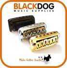 Quality guitar knife edge tremolo in chrome black or gold BS001 by Sung Il
