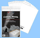 BCW: Fold-Tab Box Dividers: COMIC Size WHITE 300ct *CASE-LOT (12pks/25ea)