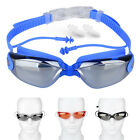 Yoocart Swimming Goggles Glass Anti Fog Protective Case Ear Plugs Anti-shatter