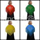 NEW Child Spanish Flamenco Dance Shawl Beautiful Traditional Embroidered Manton