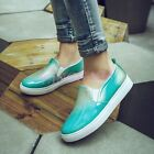 Girls Chic Multicolor Breathable Loafers Comfort Slip On Fashion Students Shoes