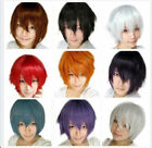 Hot New Nice 11 Colors New Fashion Style Short Layered Party Cosplay Wig JF2