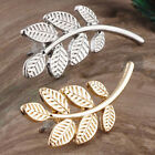 Hot Women's Girls Gold Silver Leaf Ear Climber Cuff Earrings Jewelry Fashion