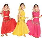 Children Girl Kid Indian Belly Dance Costume Skirt Outfit Set Bollywood Carnival