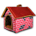 New Candy colored Indoor Pet kennel Dog House Comfort Washable Pet Nest Bed