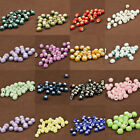 50/100/200Pc Flower Pattern Round Ceramic Porcelain Loose Spacer Beads Charm 6mm