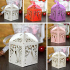10pcs Elegant Married Wedding Favor Box Gift Boxes Candy Paper Party 5 Colors
