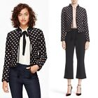 Kate Spade NEW YORK ditsy floral silk quilted jacket Spring Chic $448
