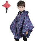 Thboxs Children'S Kids Super Light Weight Cute Water Repellent Raincoat Poncho