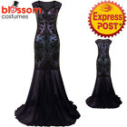 K351 Deluxe Gatsby Abbey Flapper Dress Wedding Evening Party Bridesmaid Costume