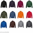 GILDAN HEAVY BLEND™ VINTAGE ZIP NECK SWEATSHIRT S-3XL GD61
